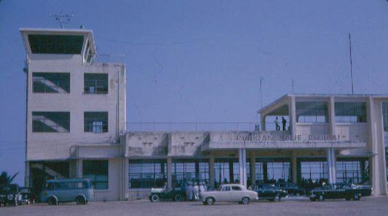 Terminal and Tower Phu Bai SVN Aug 1966 http://usafflightcheck.com  https://www.facebook.com/USAF.Flight.Check