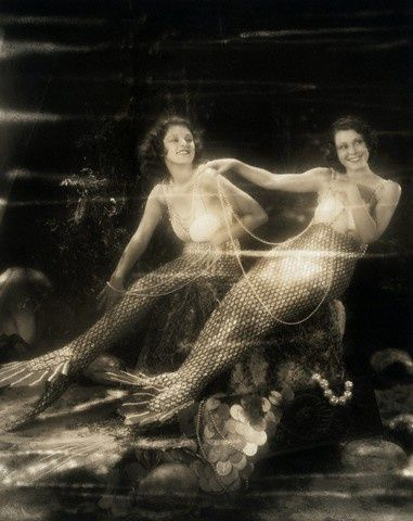Vintage Mermaids! #mermaids mermaids