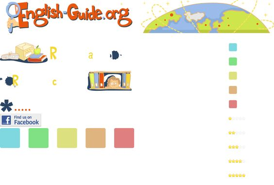 English Guide: your guide in the world of resources for learning English.