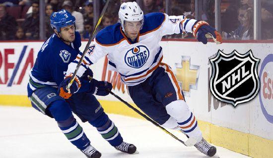 Edmonton Oilers Vs Vancouver Canucks Vancouver Canucks Canucks Oilers