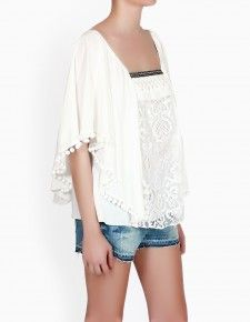 Epsilon by twenty9 lace Boho Chic blouse