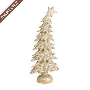 Leaning Glitter Christmas Tree | Kirkland's