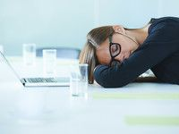 Müde im Büro - ein echter Albtraum!