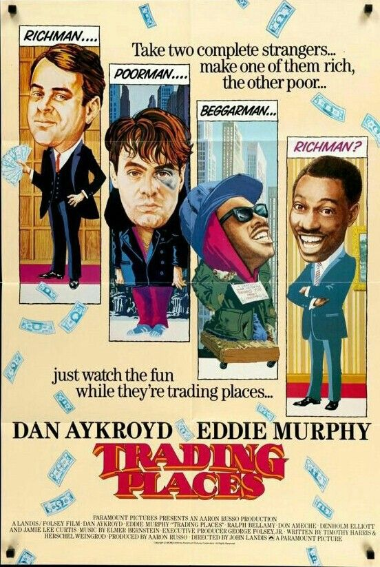 Trading Places Trading Places Old Movie Posters Best Movie Posters