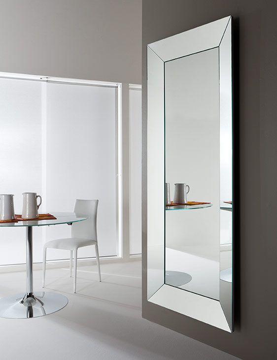 Specchio da parete trapezio riflessi mirrors pinterest for Specchio da parete componibile