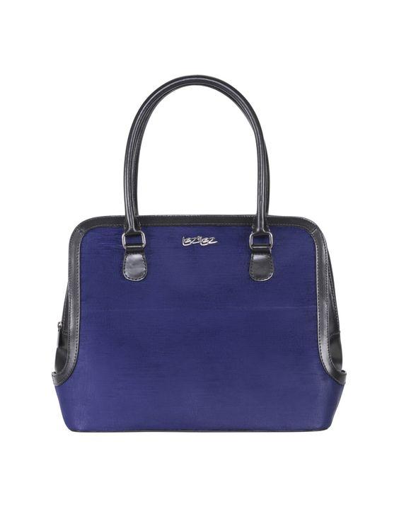 Bolsa de Mão Grande Bicolor Violeta - Lez a Lez