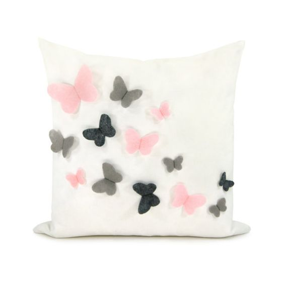 Decorative pillow cover Baby nursery Romantic by ClassicByNature, $46.00