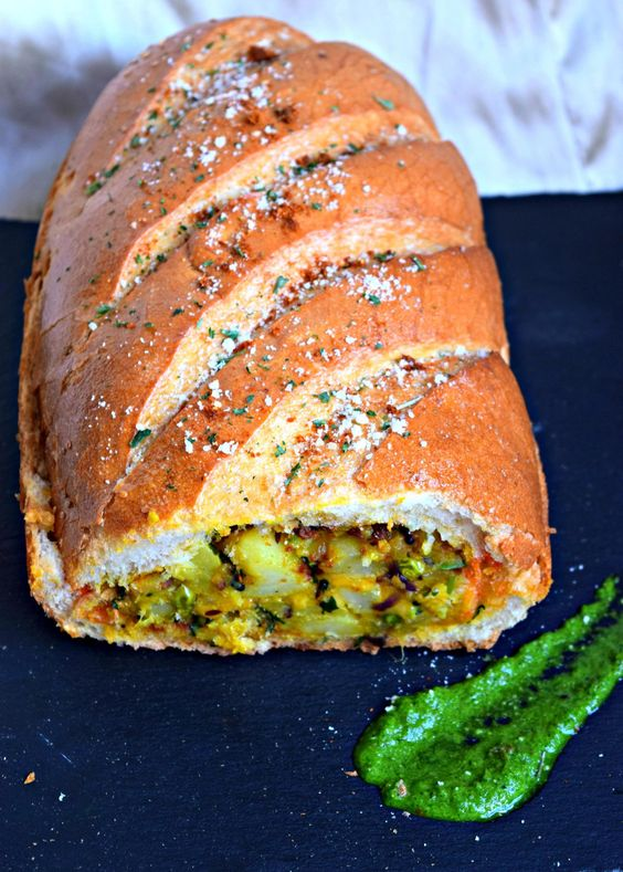 Stuffed Potato French Loaf