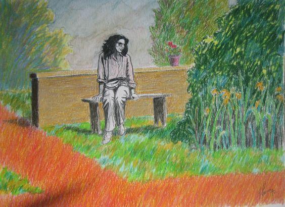 el sueño de veronica-lapiz color-25 x 35