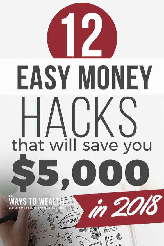 12 Easy Money Hacks That Will Save You $5,000 In 2018 money saving tips | ways to save more money | best way to save money ideas | tips to save money budget #thewaystowealth #moneylove #moneysavingideas #savemoney #moneytips #savingmoney