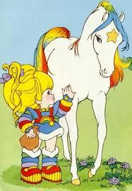 rainbow brite - the original my little pony or whatever they're calling it now