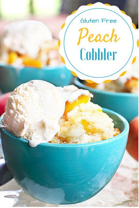 ... Gluten Free Peach Cobbler on Pinterest | Gluten Free Peach, Gluten