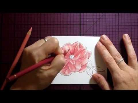 Best colored pencil shading tutorial EVER. By Dina Kowal on Splitcoast