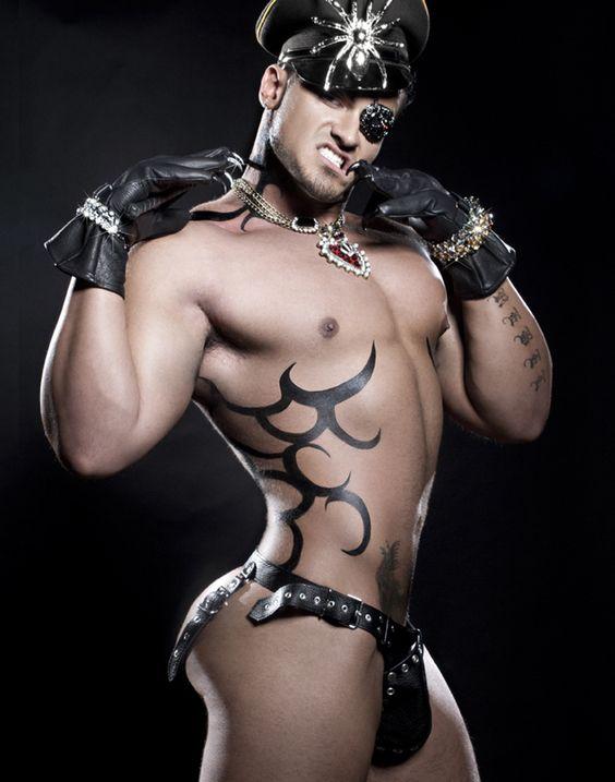 Leather male bondage gay xxx he039s managed 9