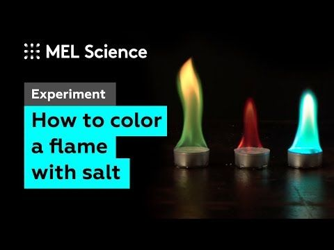 Now To Turn A Flame Different Colors School Science Experiments