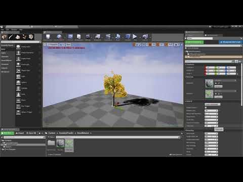 Unreal Engine 4 Plugin Procedural Tree Component Youtube Unreal Engine Plugins Engineering