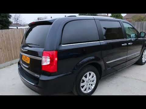 Chrysler Grand Voyager 2 8 Crd Turbo Diesel Limited Ltd Nl61cuv