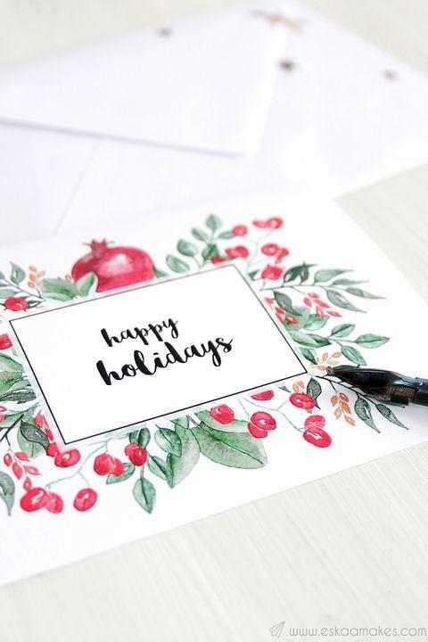 Christmas Cards 2020 Pinterest Handmade Xmas Cards Ideas in 2020 | Diy christmas cards