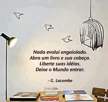 Abra um livro