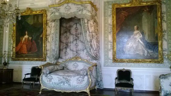 Chambre de Madame Victoire, château de Versailles