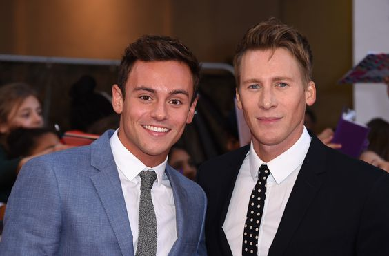 Tom Daley and Dustin Lance Black are engaged!