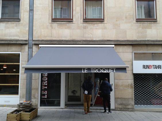 Le Troquet Bar - Store coffre - Place Saint-Louis à Metz, Lorraine