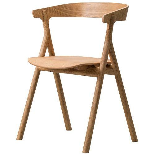 Fredericia Yksi Chair Oiled Oak Chair Design Wooden Scandinavian Furniture Chairs Scandinavian Chairs