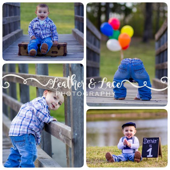 1yr old boy photo shoot. Denver is so sweet