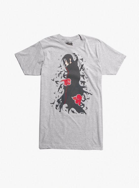 Naruto Shippuden Itachi Birds T-Shirt