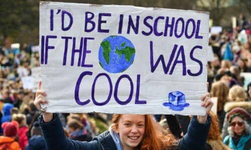 I D Be In School Climate Change Protest Signs Climate Justice
