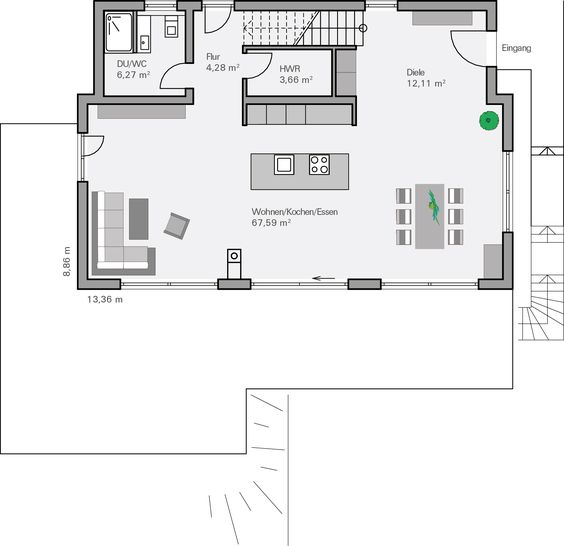 grundriss eg philipp floor plan pinterest modern und haus. Black Bedroom Furniture Sets. Home Design Ideas
