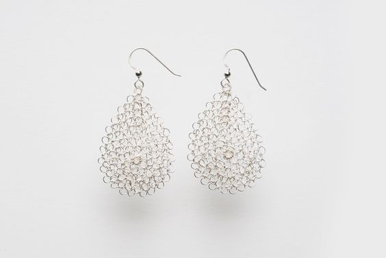 Miriam Jewels Store - MEDIUM - Silver Tear drop Earrings, $112.50 (http://www.miriamjewels.com/copy-of-small-tear-drop-earrings-1/)