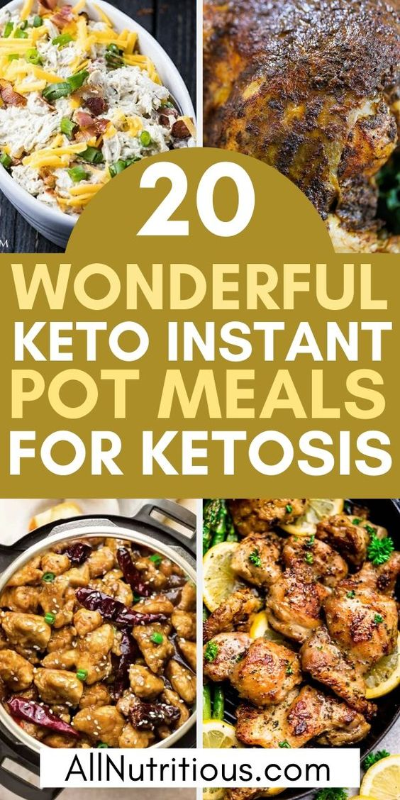 20 Quick Keto Instant Pot Meal Ideas - All Nutritious