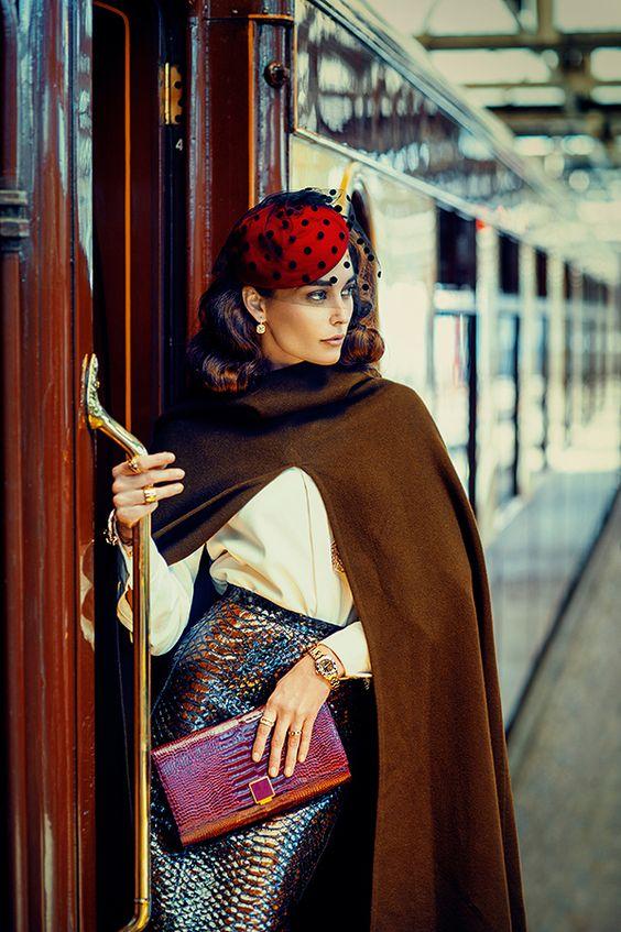 Breathtaking Outfit // Courtesy of: Bespoke Magazine // Behance.net