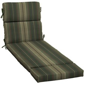 Chaise lounges lounge cushions and lowes on pinterest for 23 w outdoor cushion for chaise