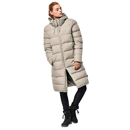 Jack Wolfskin Women's Crystal Palace Down Puffer Long Jacket