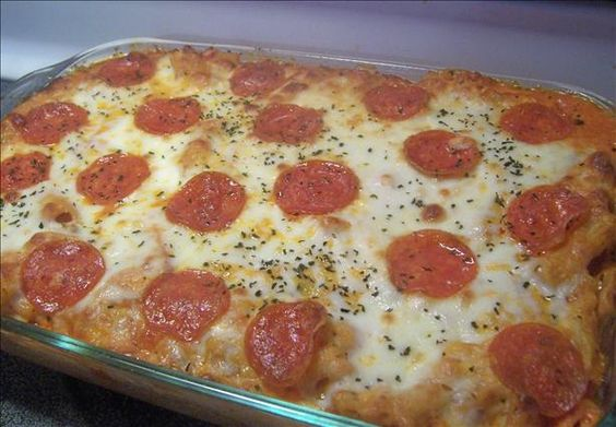Ziti Pepperoni Casserole from Food.com: This is my kids' favorite meal ...