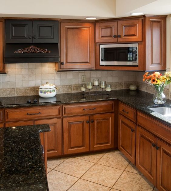 Kitchen Paint Colors With Honey Maple Cabinets: Warm Browns, Cabinets And Glaze On Pinterest