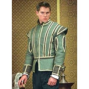 Courtly Green Doublet: Renaissance Costumes, Medieval Clothing, Madrigal Costume: The Tudor Shoppe
