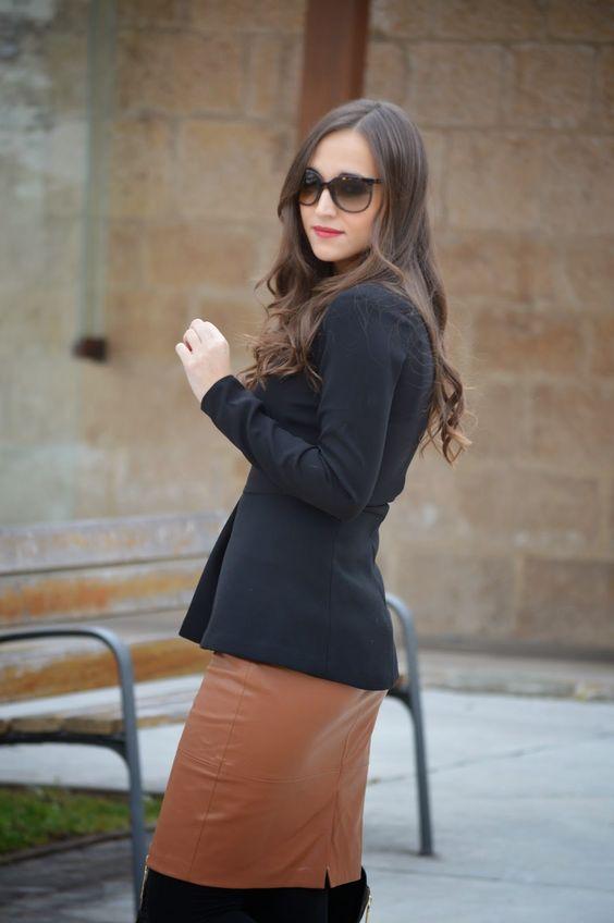 1000 maneras de vestir: Black&Camel