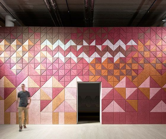 Superb BAUX Träullit, A Collection Of Sound Absorbing Wall Panels Like No Other.  The Environmentally Friendly Panels Are Made Of Wood Wool, Cement And  Water, ... Amazing Ideas