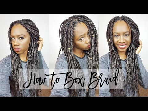 Swell How To Box Braid Protective Styles And Box Braids On Pinterest Hairstyles For Women Draintrainus