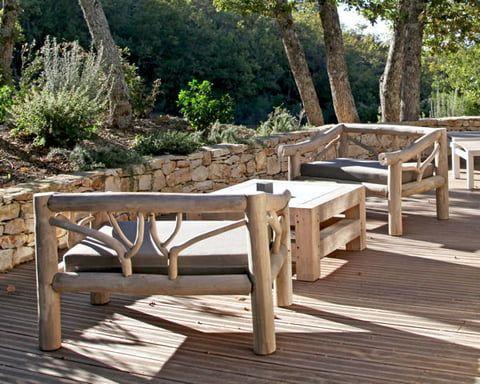 Mobilier De Jardin En Bois Massif Jardins En Bois Mobilier Jardin Salon De Jardin Bois