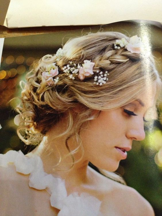 photos of stacked bob haircuts this hair plait flowers dreamy 5546