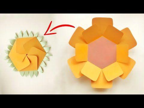 Diy Sunflower Scrapbook Crad Youtube Scrapbook Scrapbook Cards Yellow Aesthetic