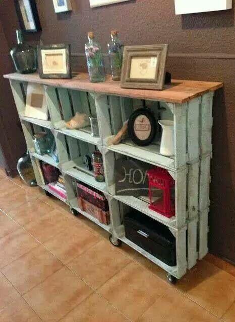 weinkisten regal diy shabby conny pinterest shabby und selber machen. Black Bedroom Furniture Sets. Home Design Ideas