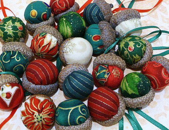 Natal Bolota ornamentos e bacia Filler Definidos por CreationsByAngel