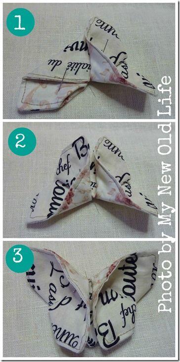 tutorial farfalle di stoffa 5