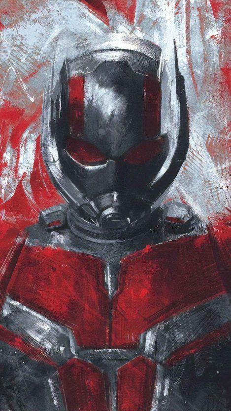 Avengers Endgame Ant Man Red Art Iphone Wallpaper Ant Man Avengers Marvel Characters Art Marvel Cinematic