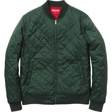Supreme Quilted Work Jacket | Outfits & Style | Pinterest | Green ...
